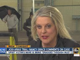 Nancy Grace weighs in on the Jodi Arias murder trial.
