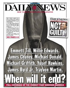 In a swarm of media coverage on the outcome of the Zimmerman/Martin trial, what three stories would you recommend?
